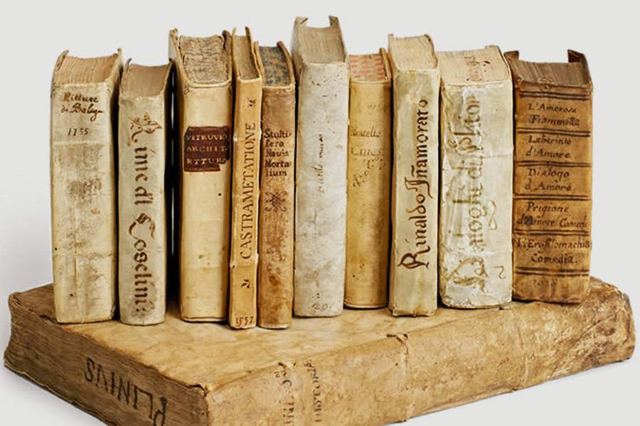 Viaggi letterari nel fondo antico [ven 9 dic]